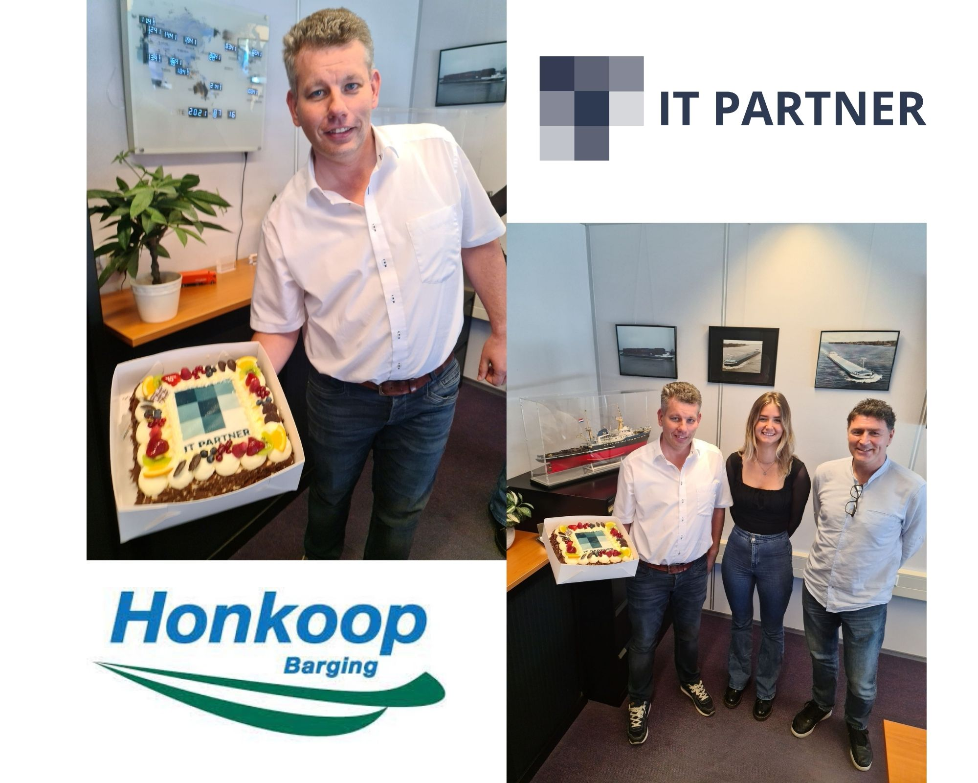 Honkoop Barging and staff of IT Partner